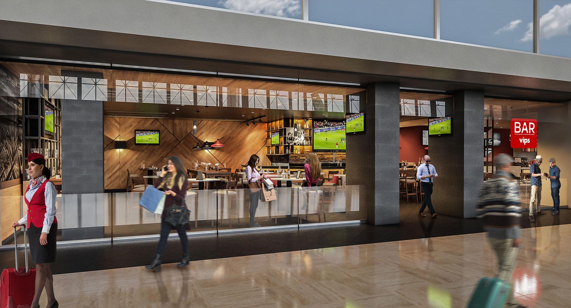ALSEA Vips Aeropuerto Guadalajara